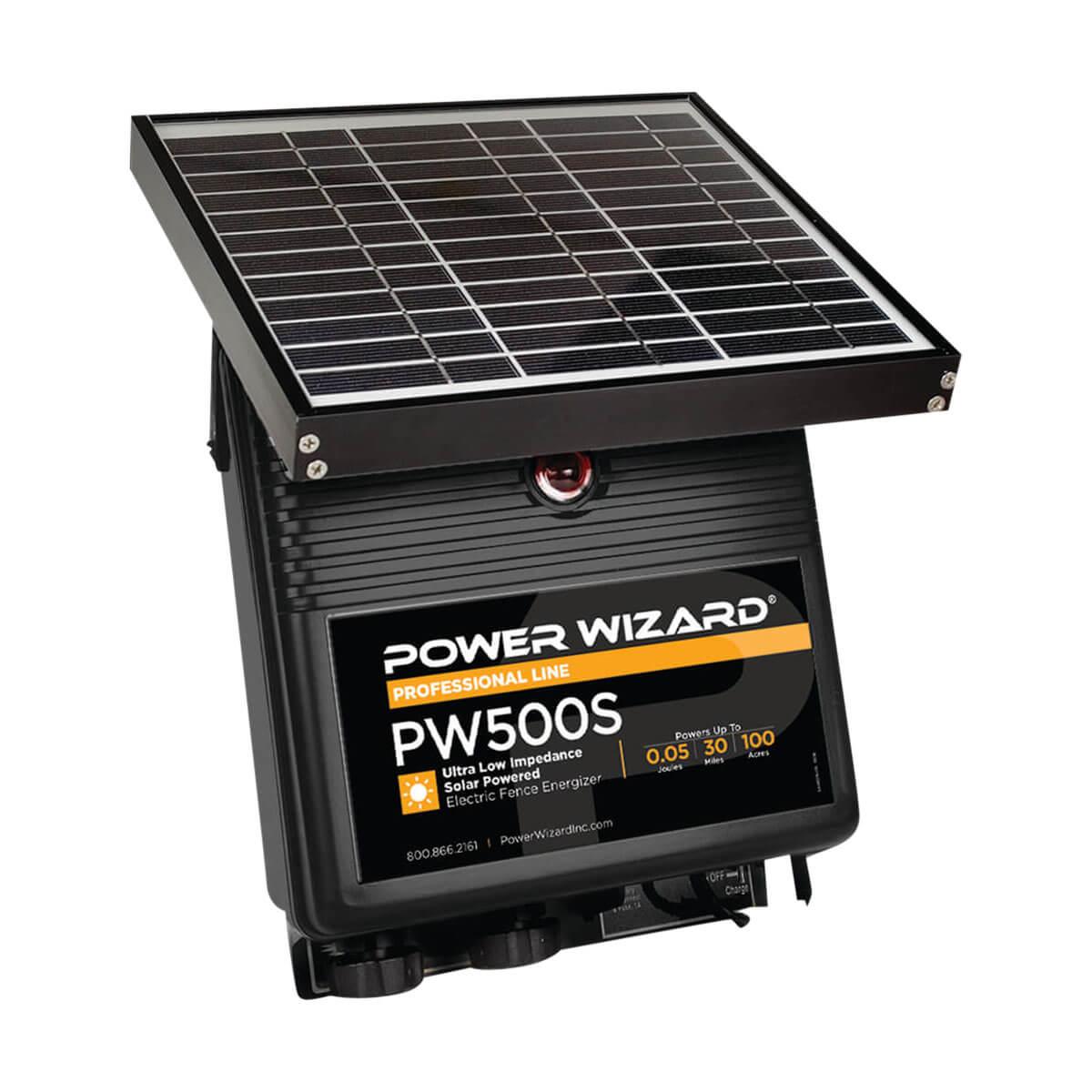Power Wizard PW500S Solar Fence Energizer