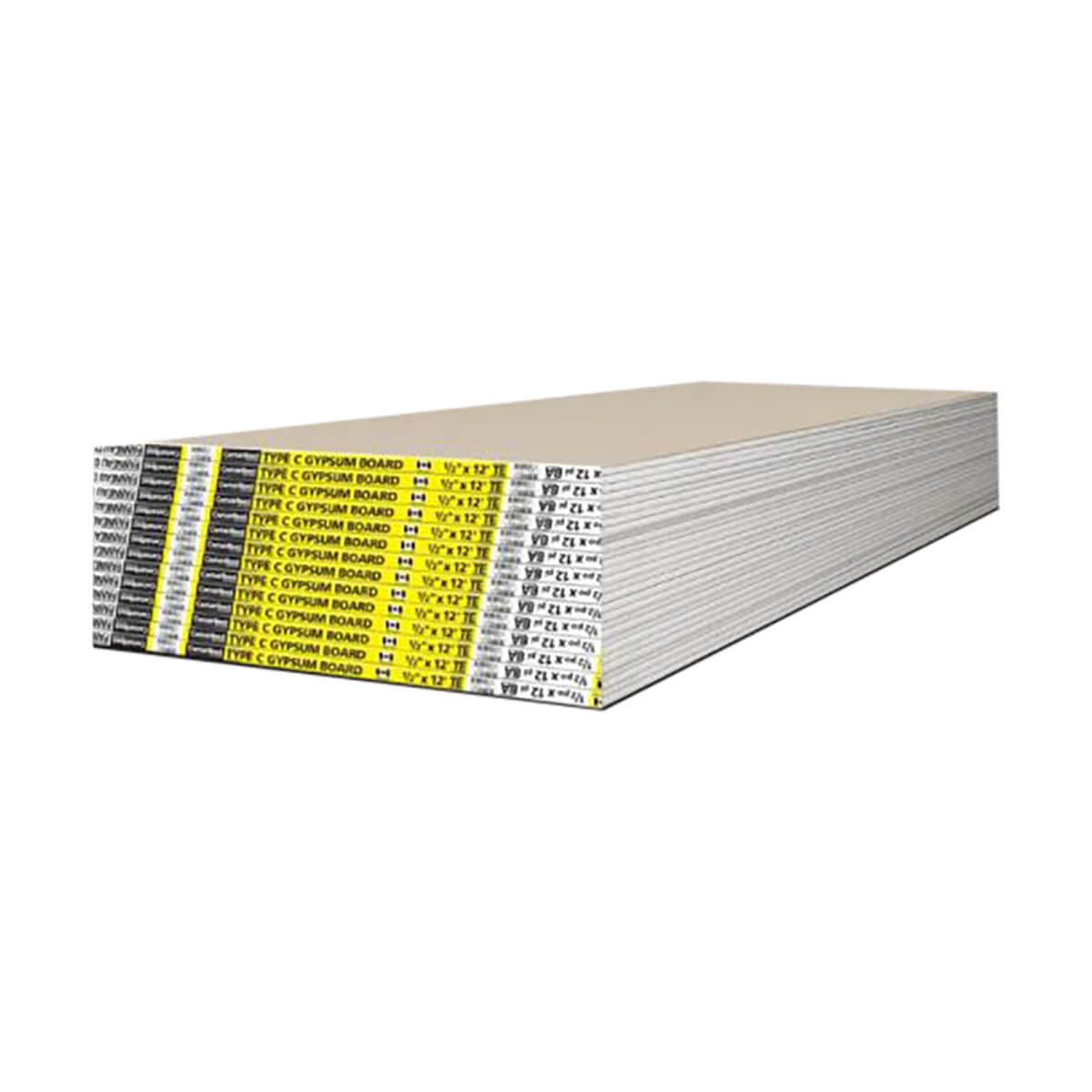 Drywall - 1/2-in - 4-ft x 12-ft