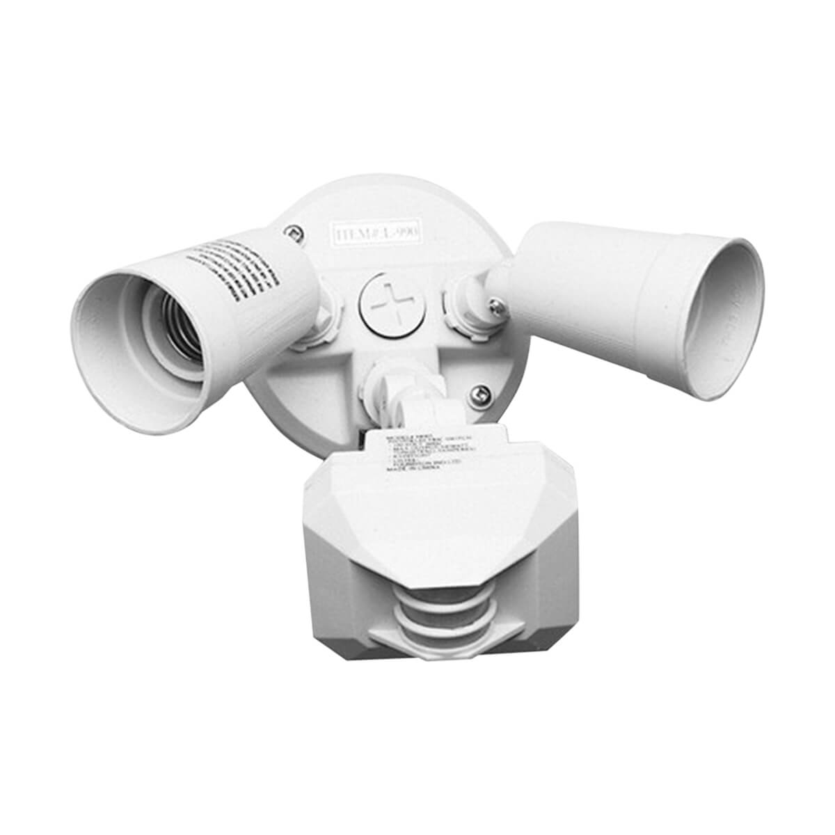 Motion-Activated Flood Light - 110W - White