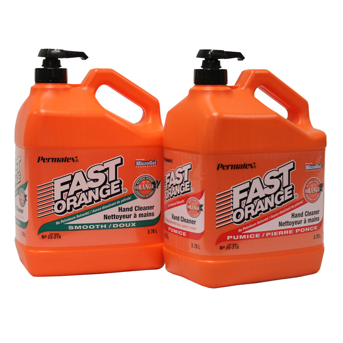 Fast Orange Hand Cleaner - 3.78L - with Pumice