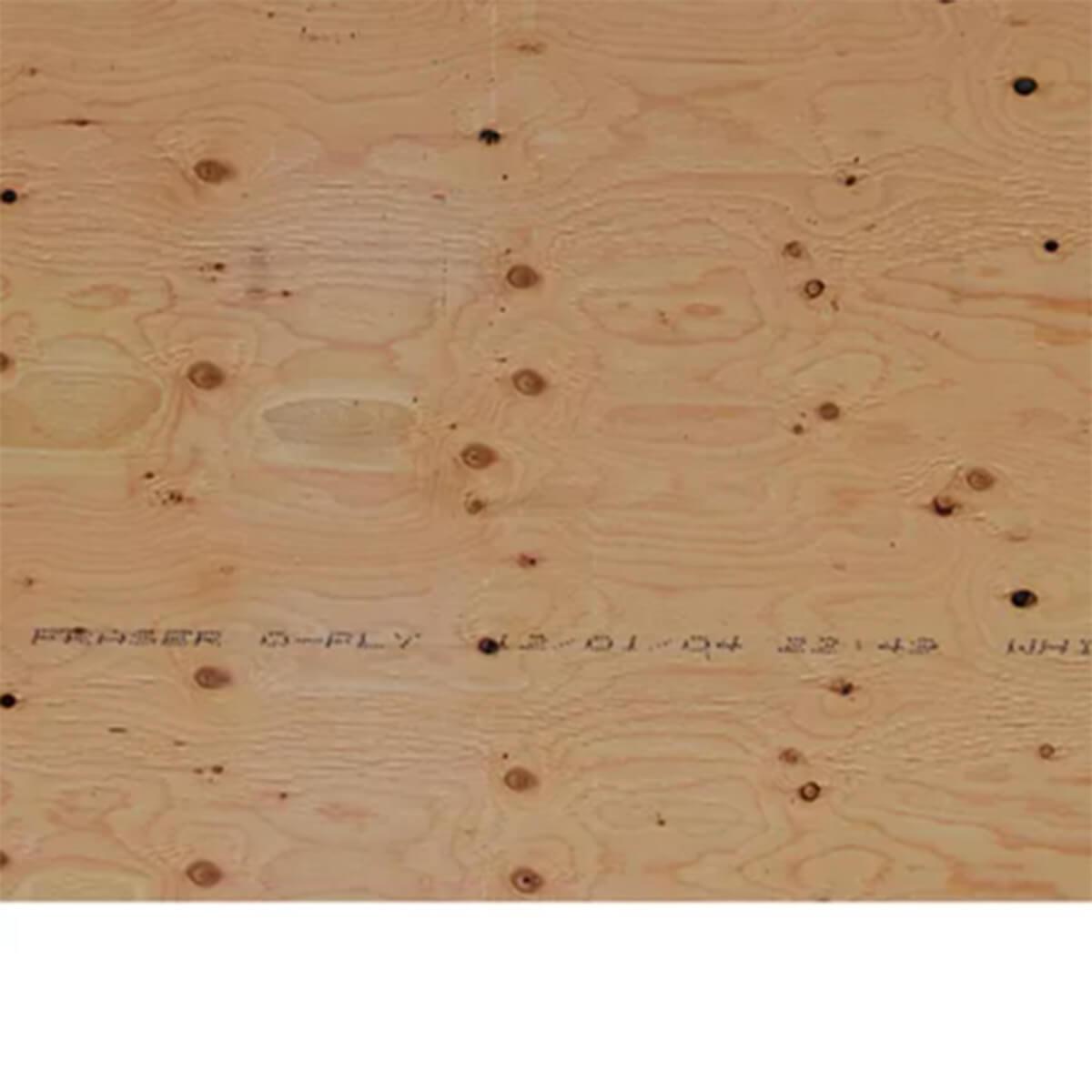 Fir Plywood Underlay - 4 X 8 - 8.5 MM