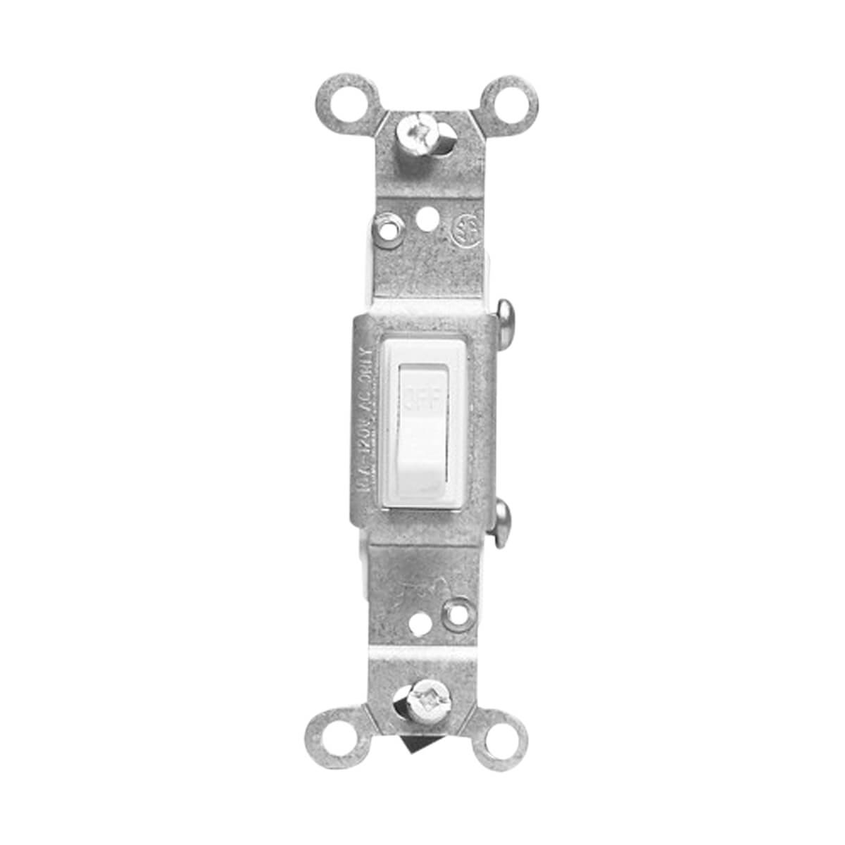 Single Pole Switch - White