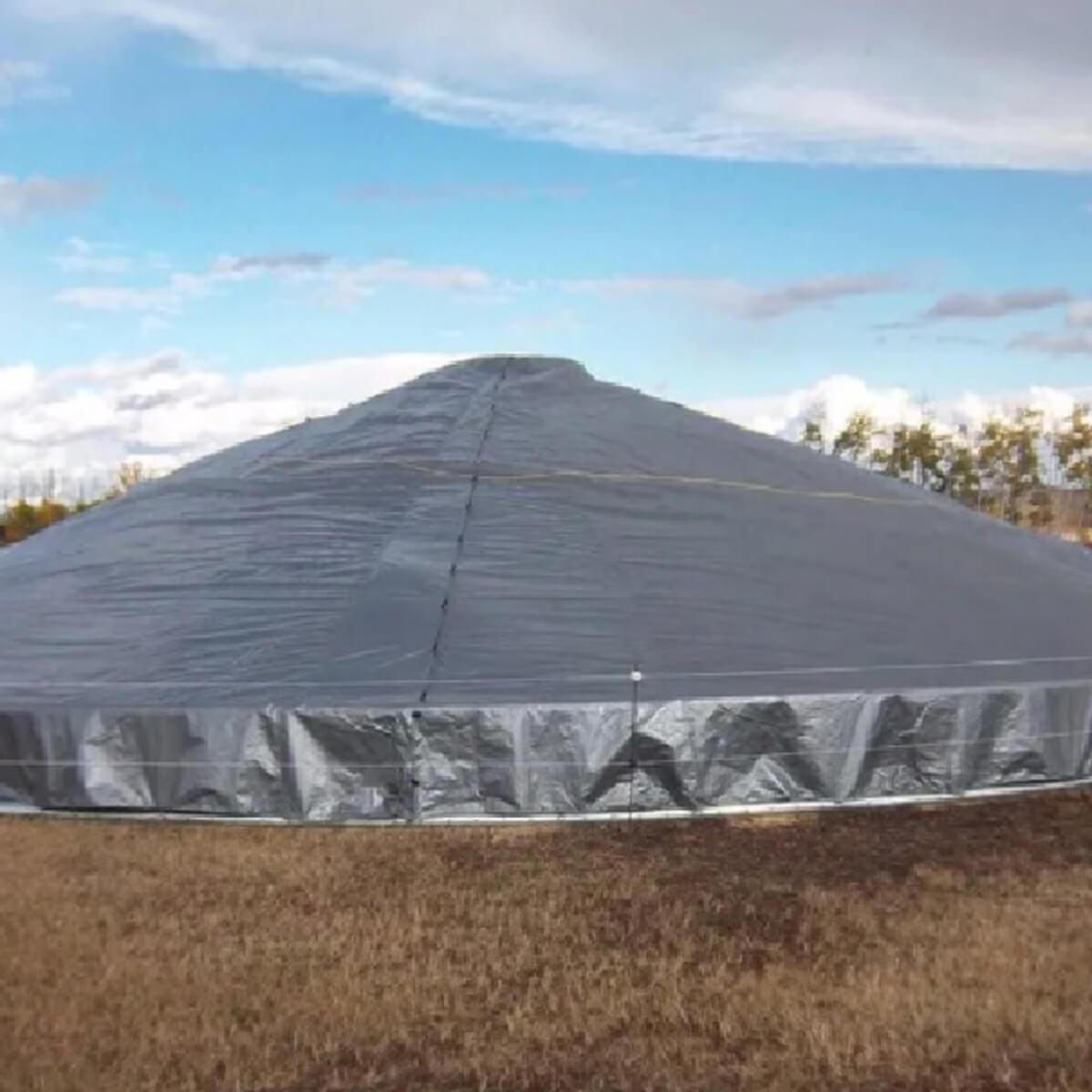 Grain Storage Cover - 26.9' dia - 2700 bushel (approx)
