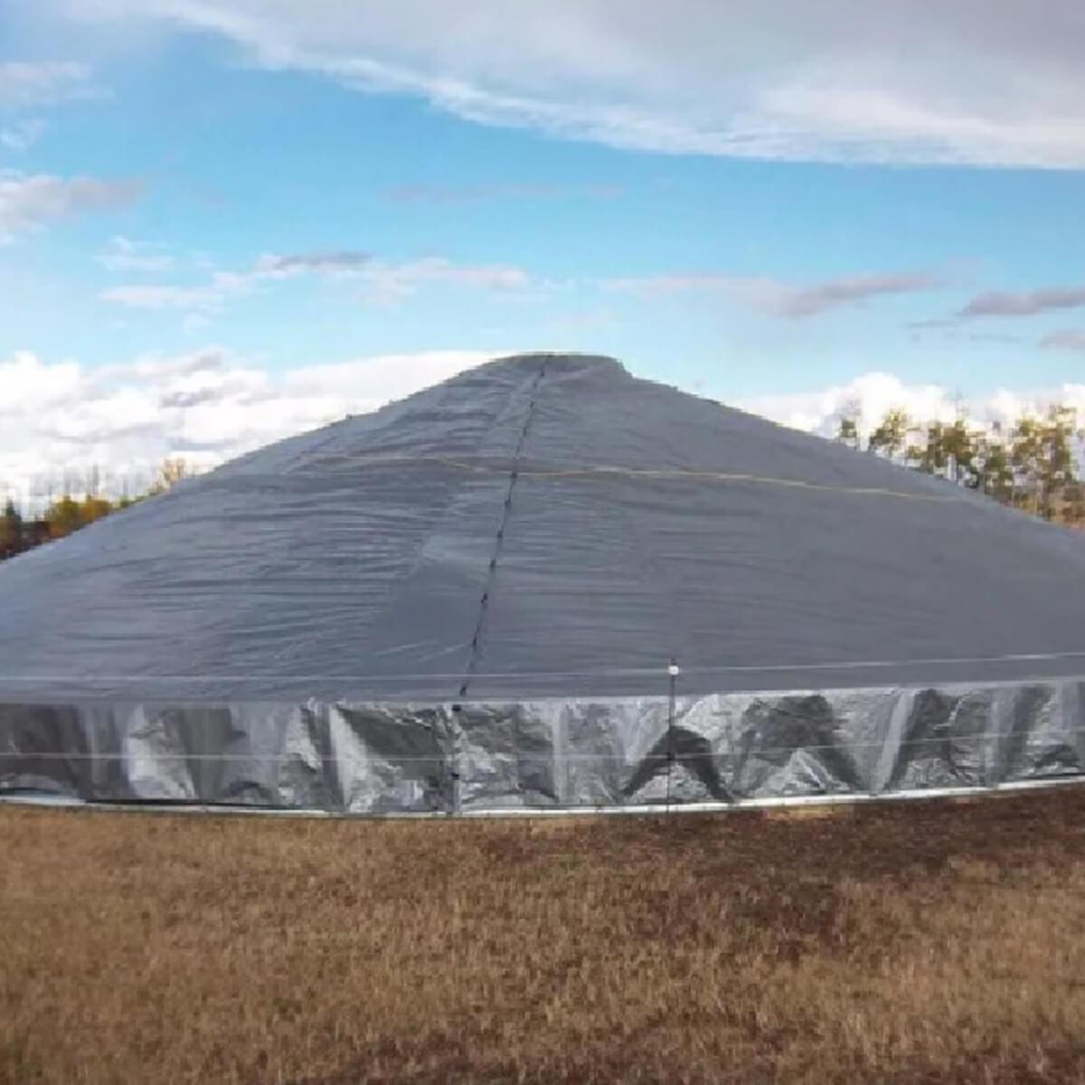 Grain Storage Cover - 34.2' dia - 4400 bushel (approx)