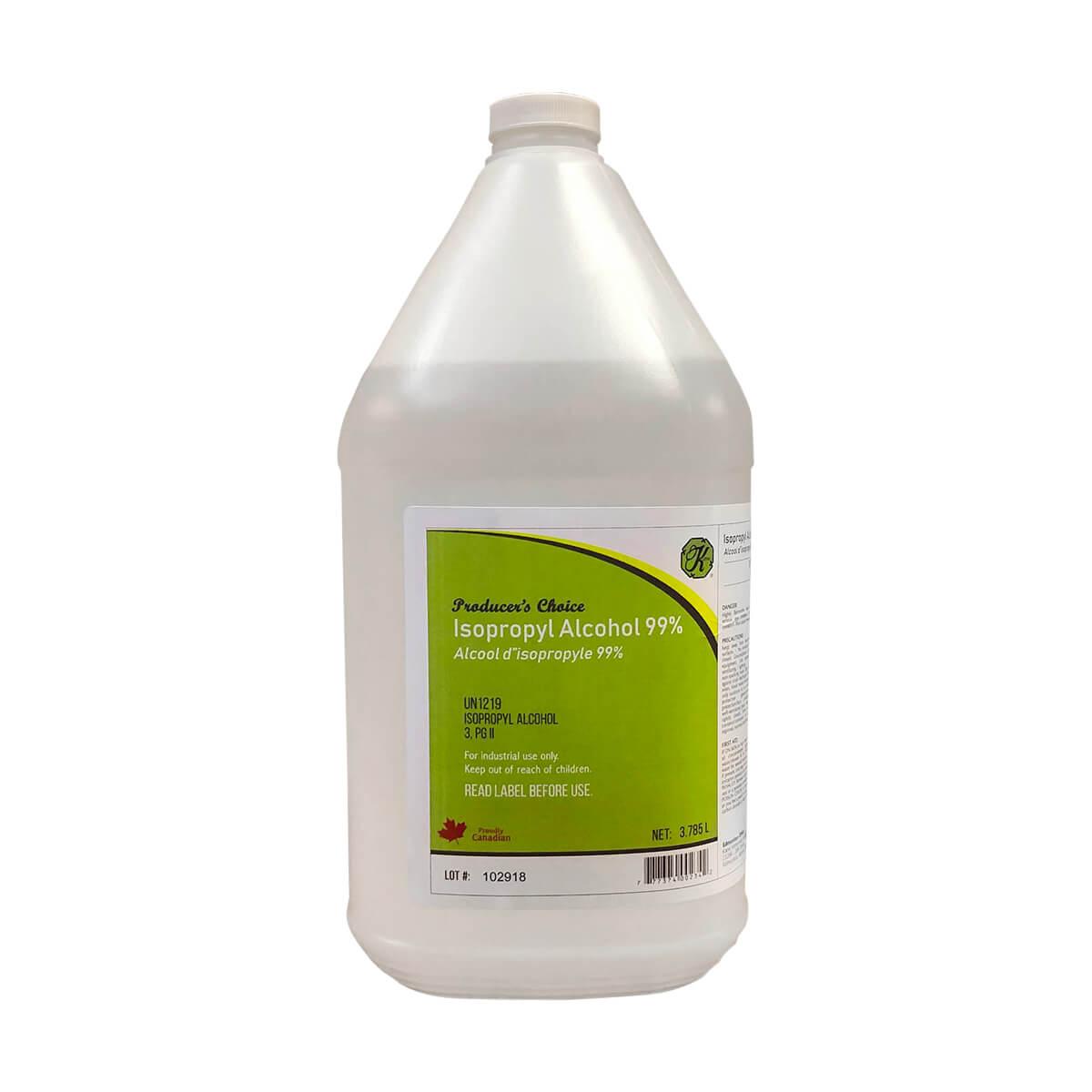 Alcohol Isopropyl 99% - 3.8 L