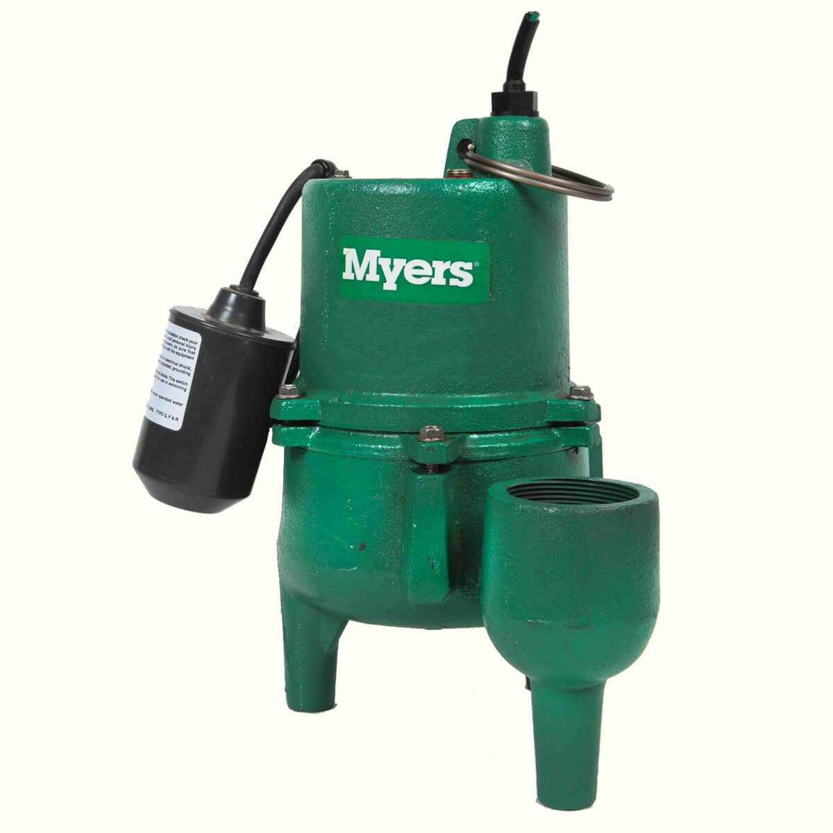 Myers Residential Sewage Pump - SRM4PC-1