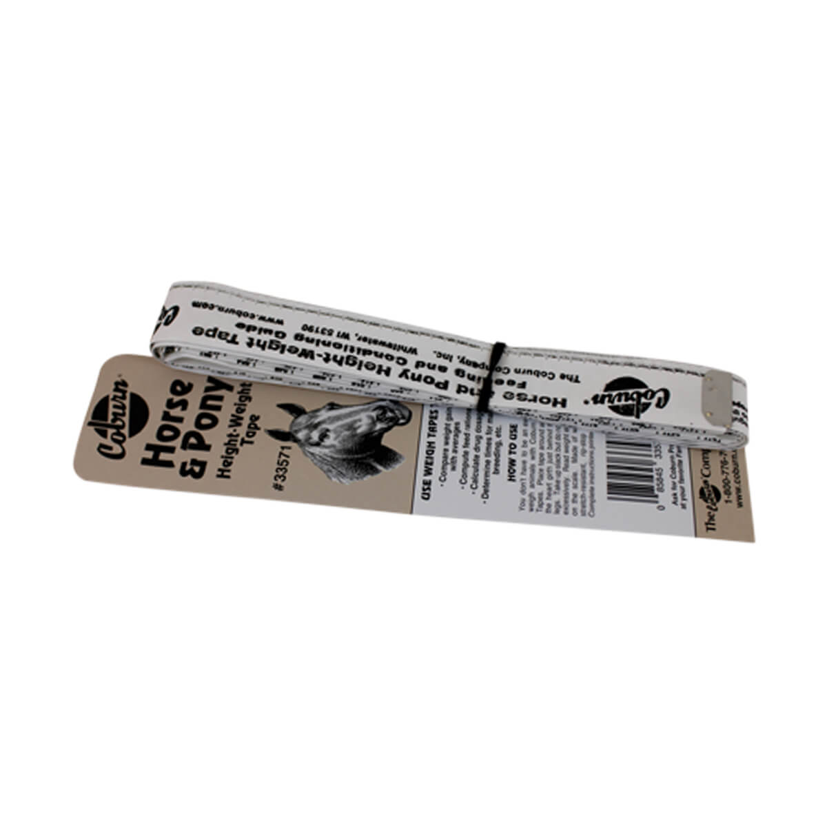 Horse and Pony Height Weight Tape