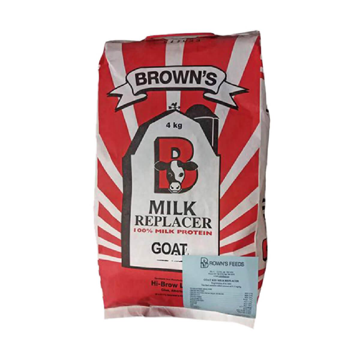 Brown's Goat/Kid Milk Replacer - 4 kg