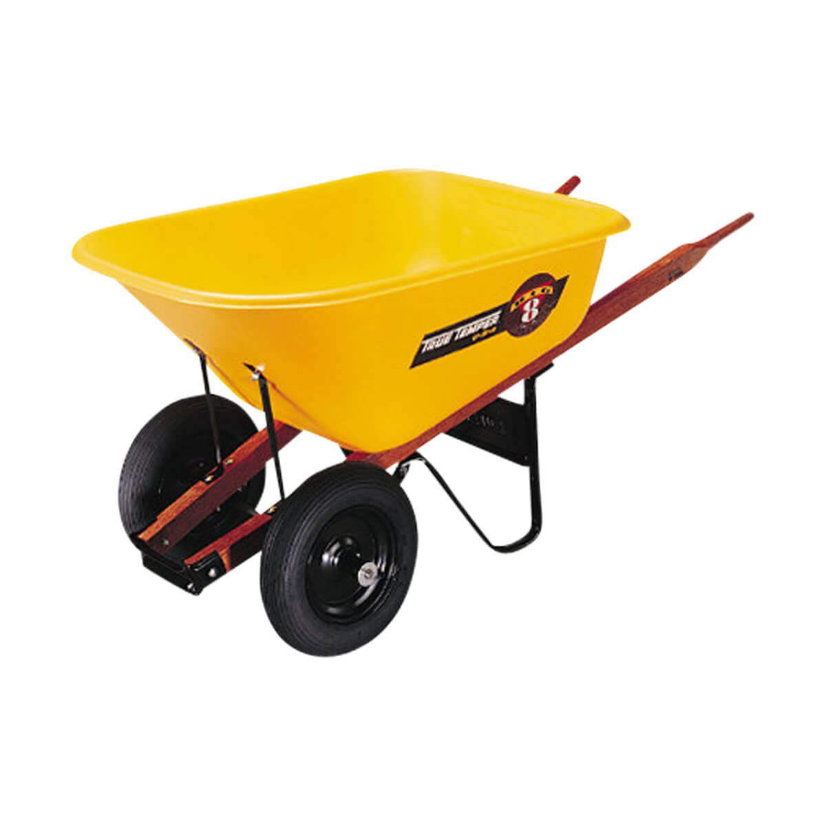 Garant Double Wheel Wheelbarrow