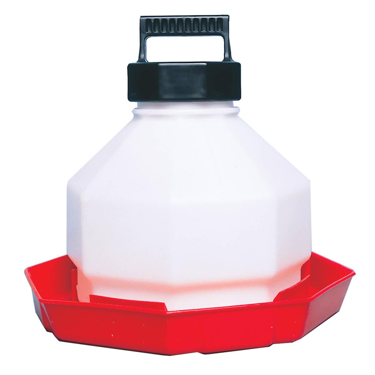3 Gallon Plastic Poultry Waterer