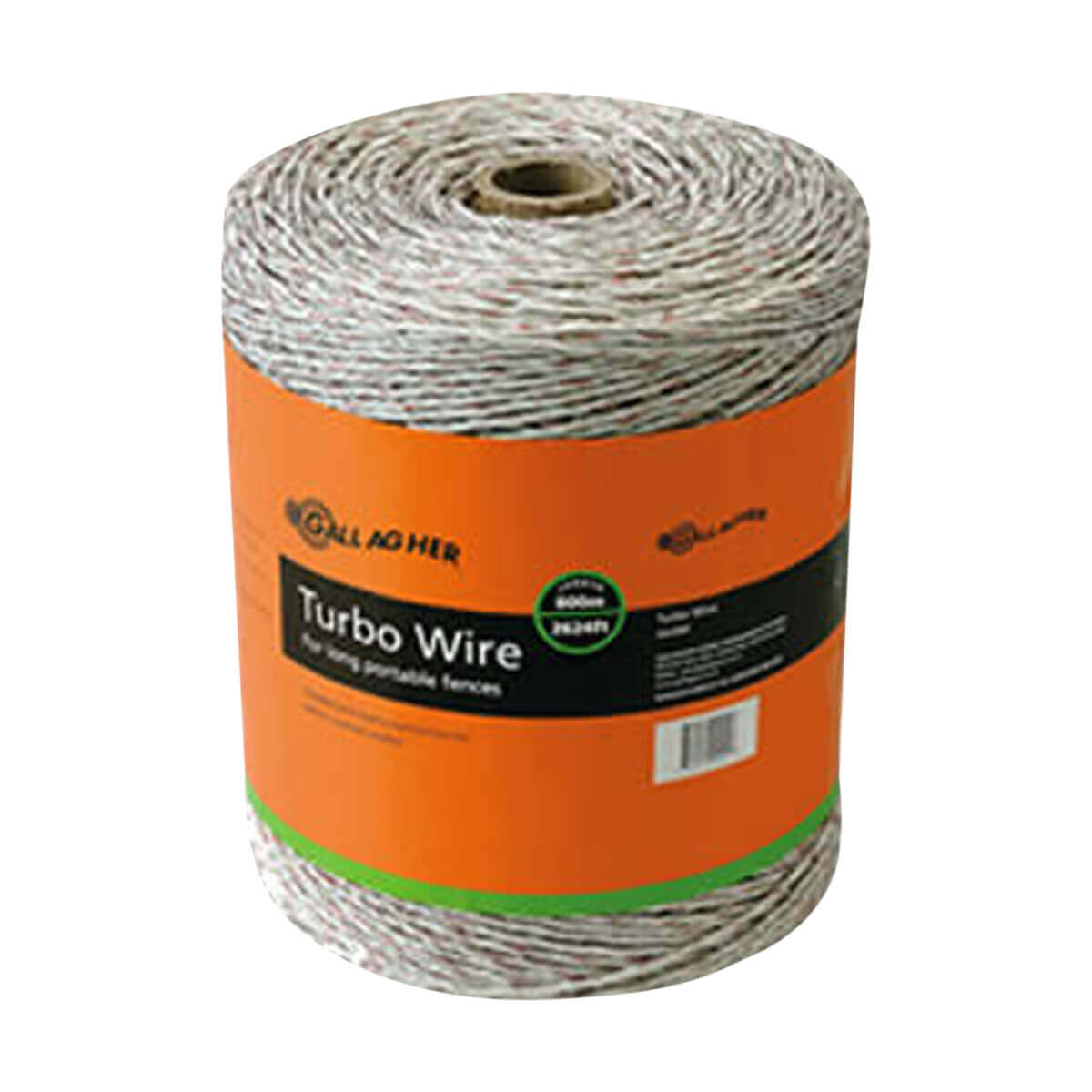 Gallagher Turbo Wire - White - 400 m