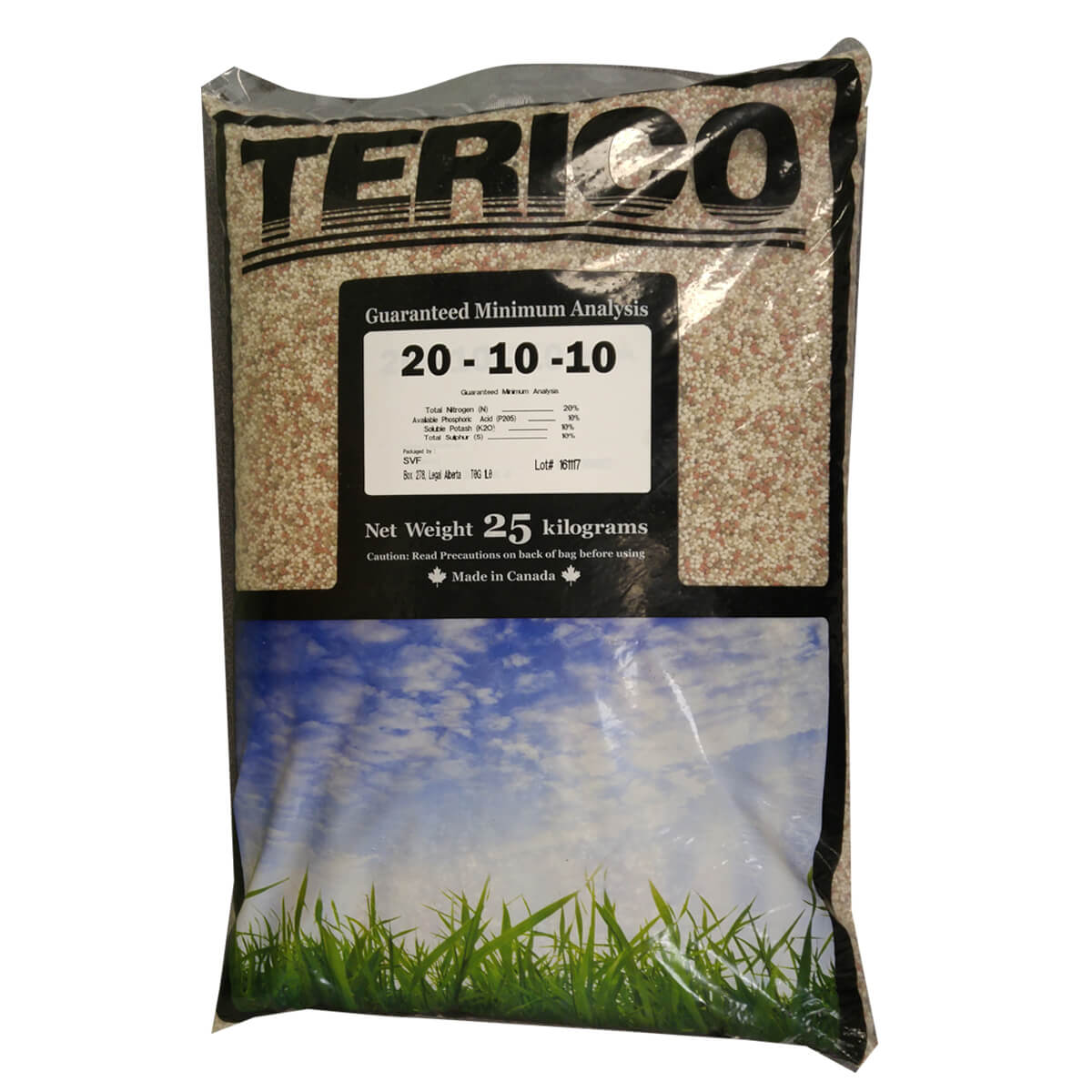 20-10-10 Terico Lawn Fertilizer 25 kg