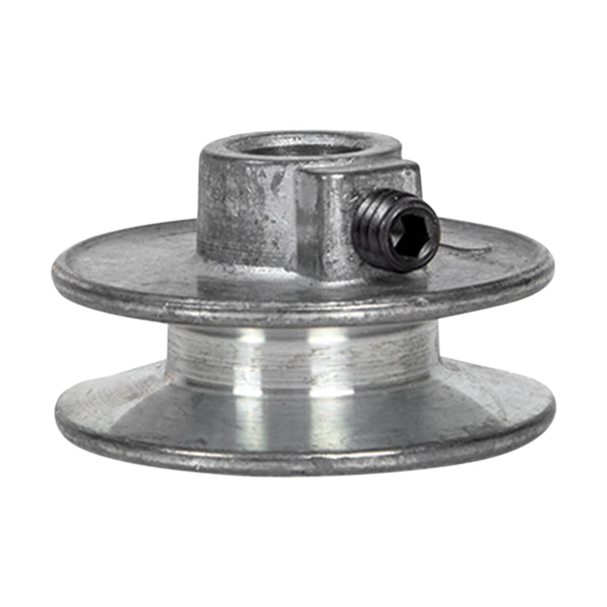 "Aluminum Pulley for A-Belts - 2 1/4"" x 5/8"""
