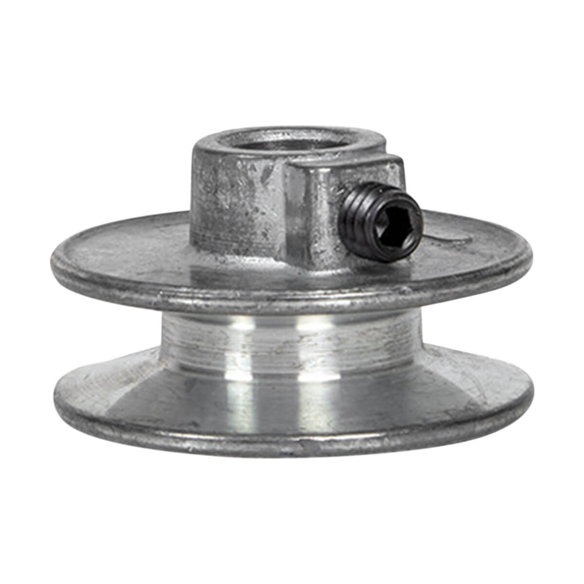"Aluminum Pulley for A-Belts - 3 1/2"" x 5/8"""