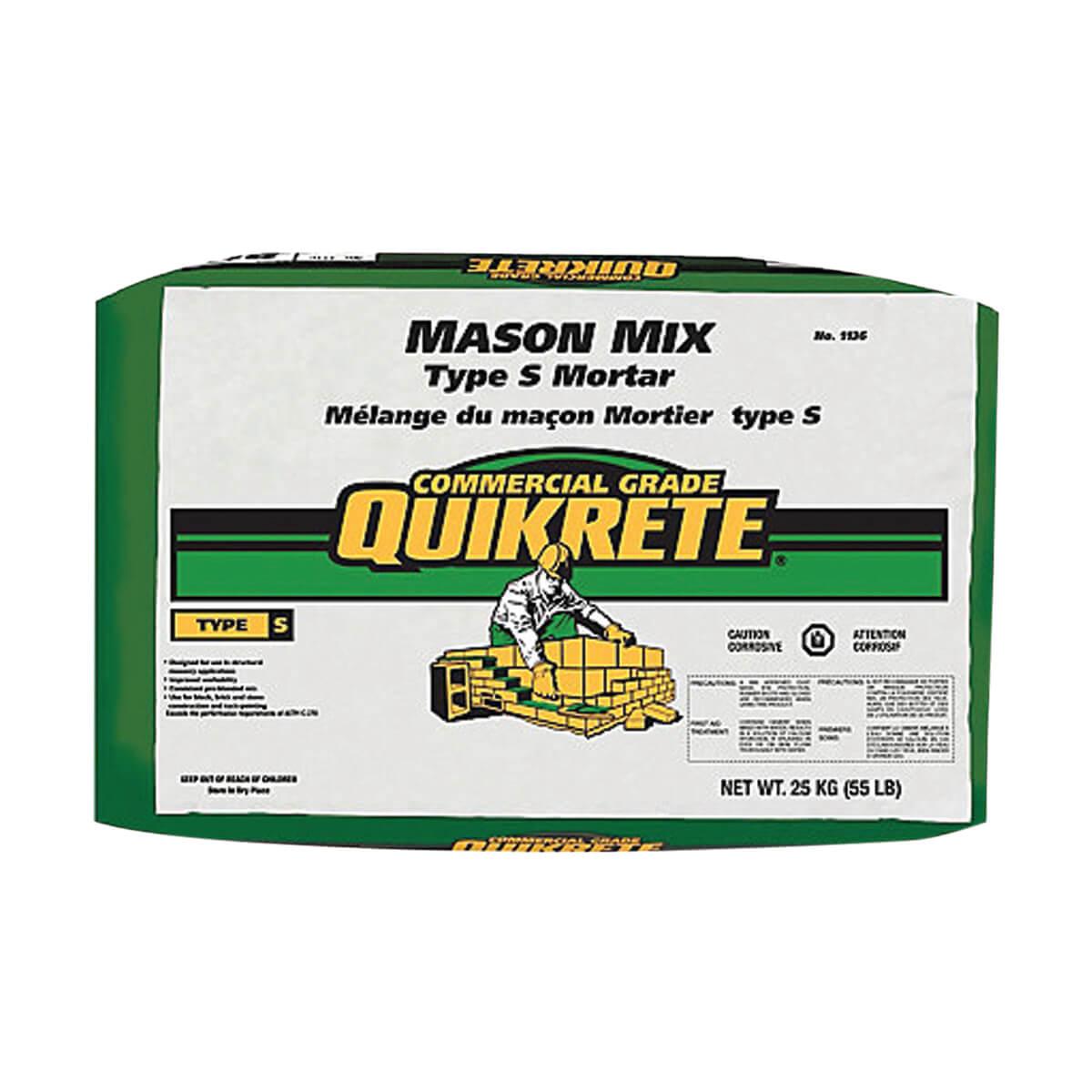 Quickrete® Mason Mix Type S Mortar 25kg