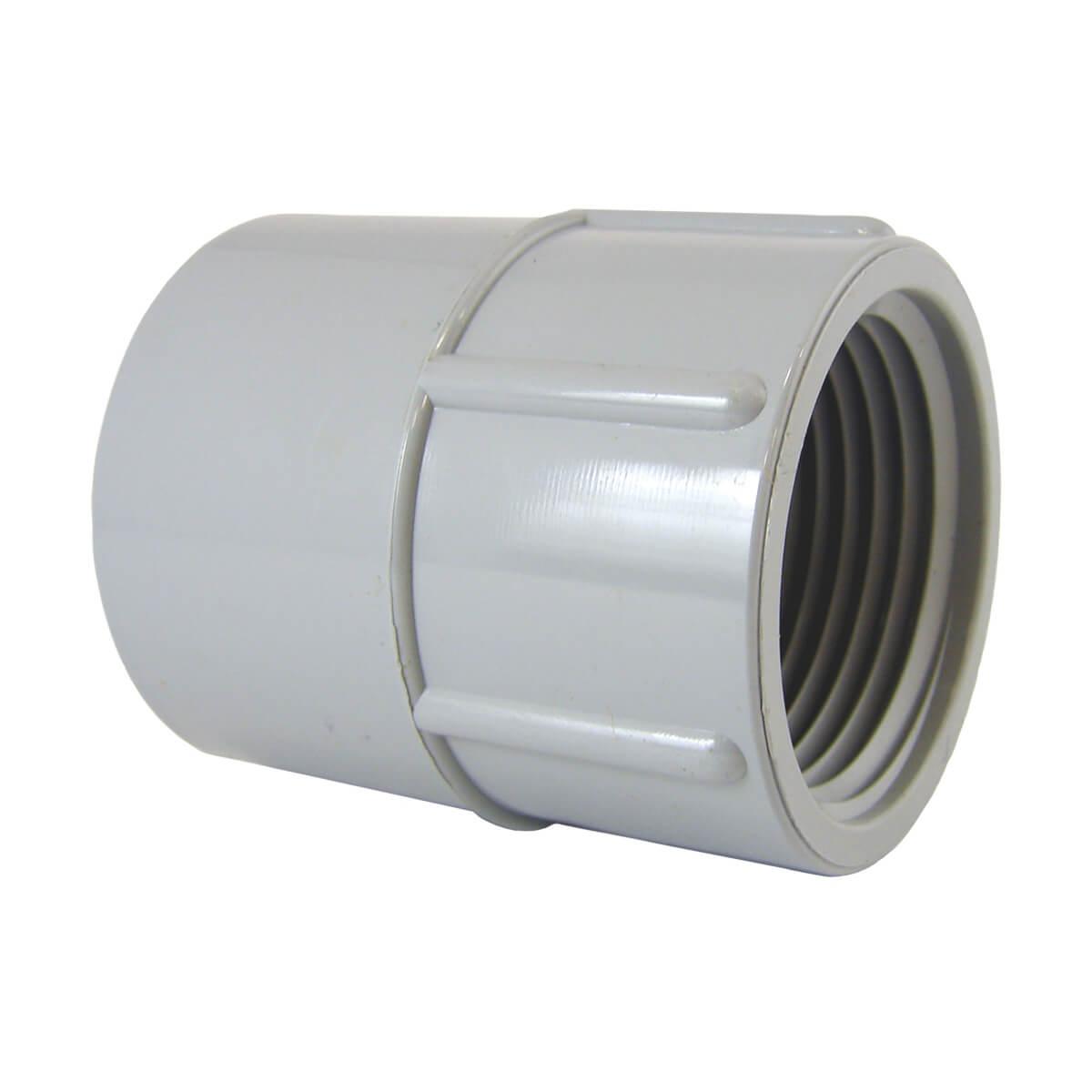 """PVC Conduit Terminal Adapter - Hub x MPT (F) - 1/2"""""""